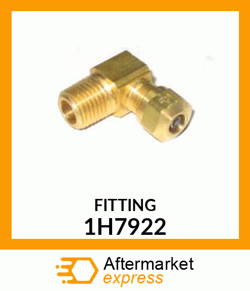 CAT FITTING TUBE TO DIESEL  for Caterpillar 1H7922