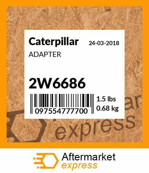 CATERPILLAR ADAPTER 1666693