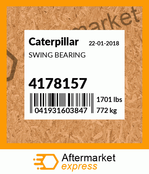 4174316 Kit Gasket Fits Caterpillar