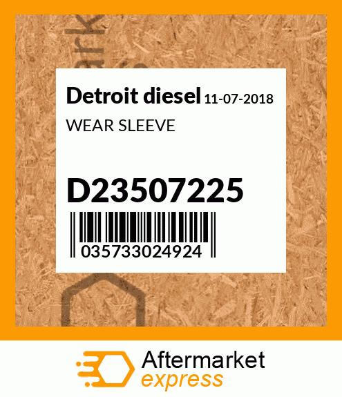 D23501587 - OIL COOLER GASKET Fits Detroit Diesel