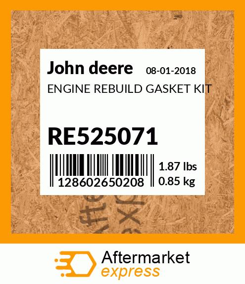 #RE525105 John Deere Fuel Filter Assembly